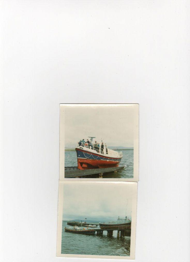 Longhope boat on Stromness slipway