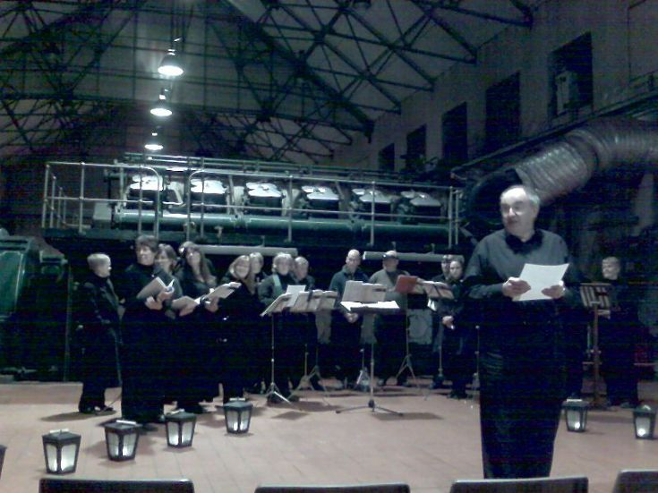 Tenebrae Readings in the Power Station