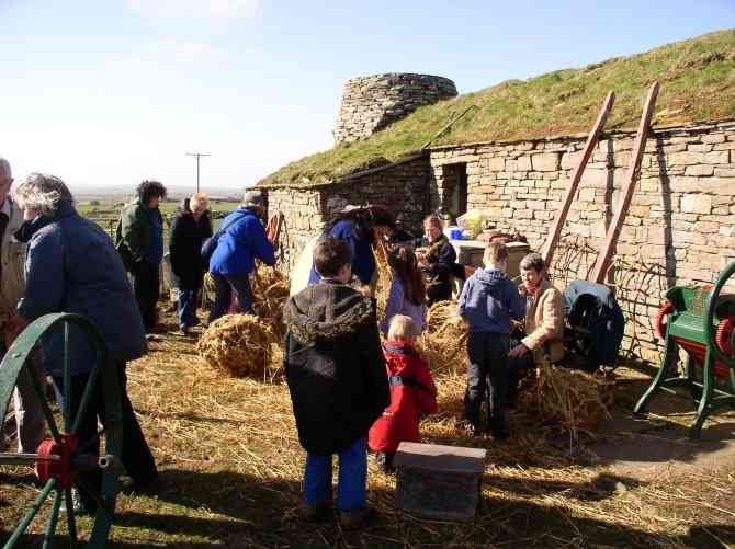 Strae Day at Corrigal Farm Museum, 2004