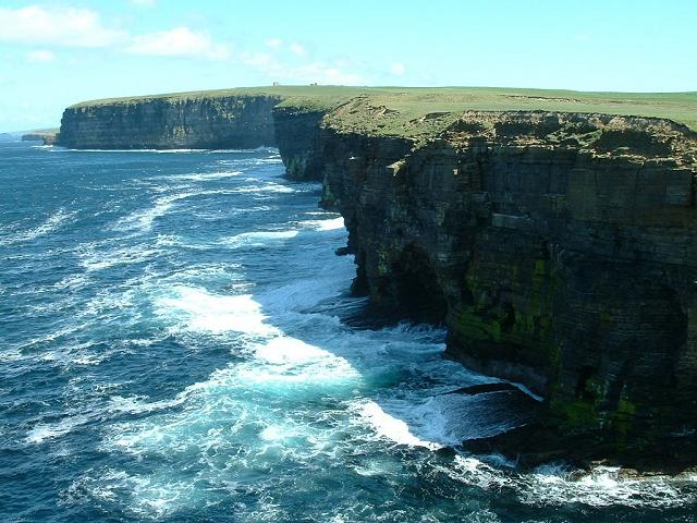 Cliffs at Northside, Birsay