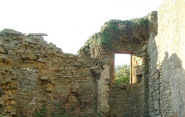Remains of 'castle' off Main Street