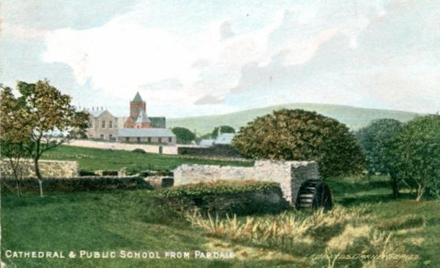 Cathedral and Public School from Papdale