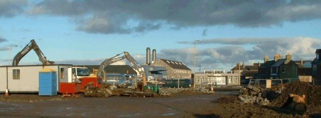 St Clair's Emporium demolition, 7th December