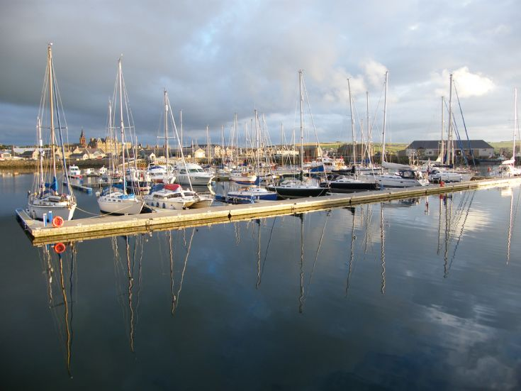 Kirkwall Marina Reflections