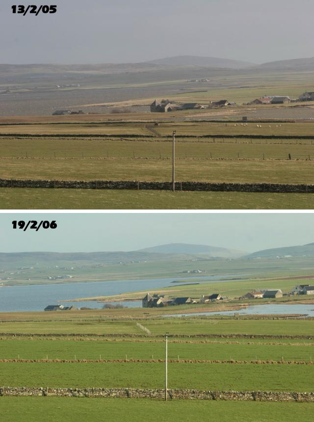 Sandwick then and now