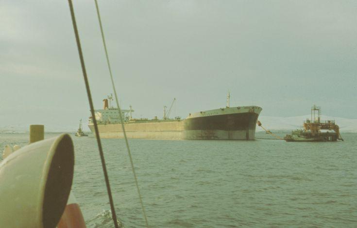 Shelltanker Neverita Flotta SBM
