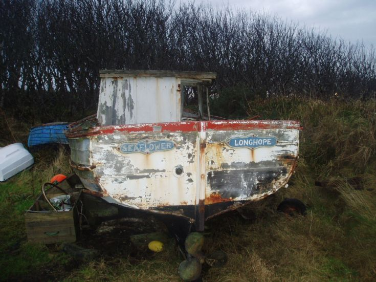 Hugh Seatter's boat