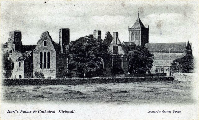 Earl's Palace and Cathedral, Kirkwall