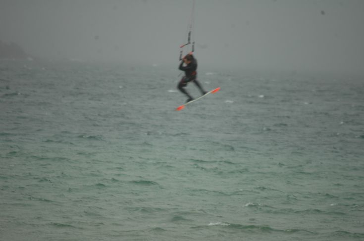 Kiting at Scapa