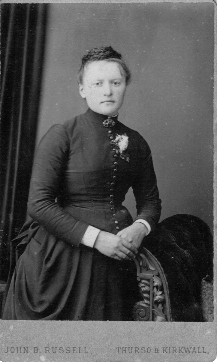 Believed to be Catherine Ann Baikie