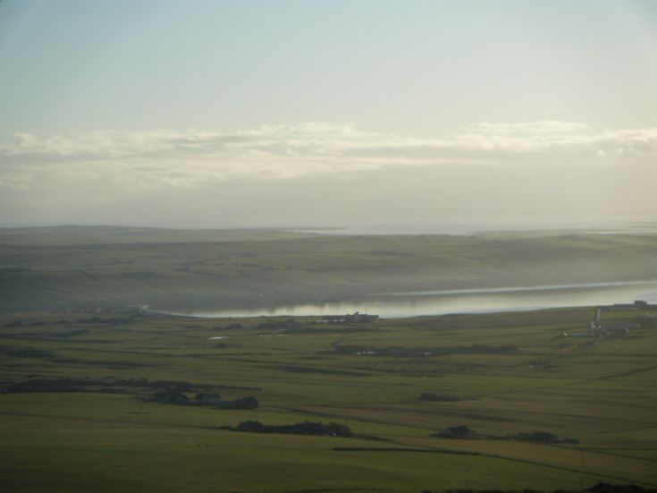 View over Scapa from Wideford Hill