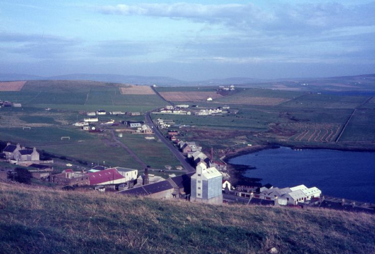 NORTH END STROMNESS FROM BRINKIES 1960