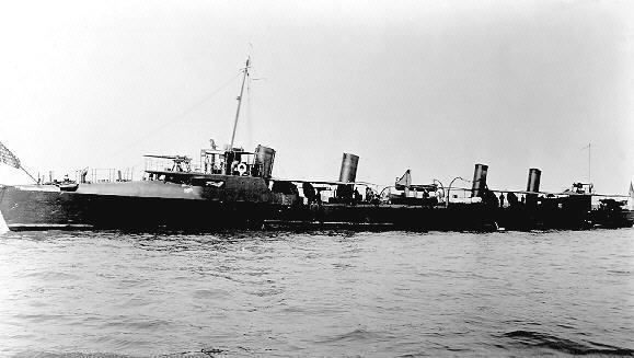 USS Truxtun DD14