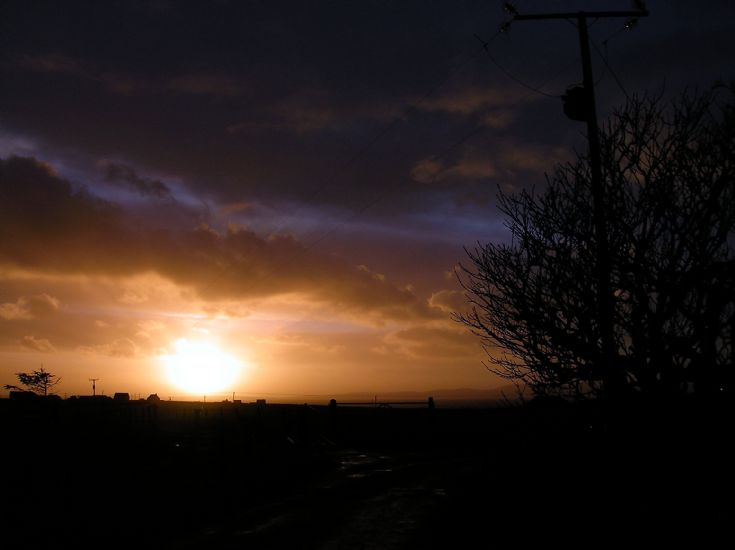 Winter Sunset over Scapa