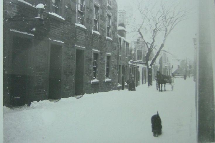Albert Street in the snow