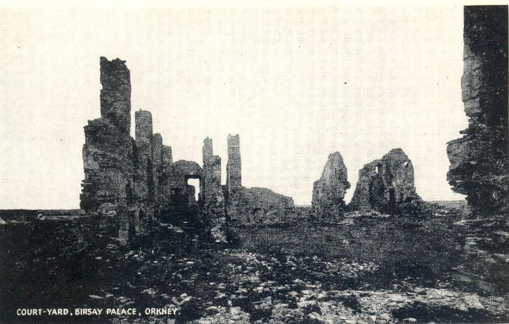 Earl's Palace in Birsay