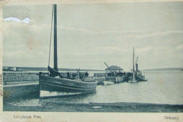 Longhope pier