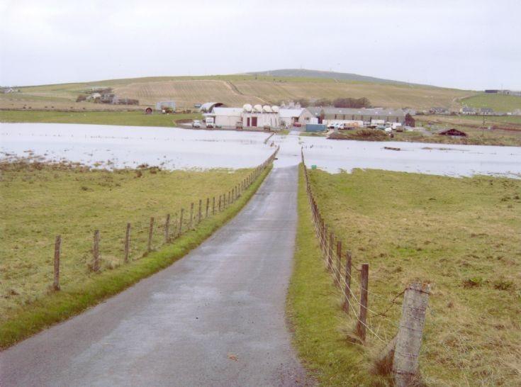 Flooded Crantit valley