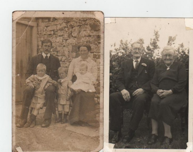 John Budge's grandparents