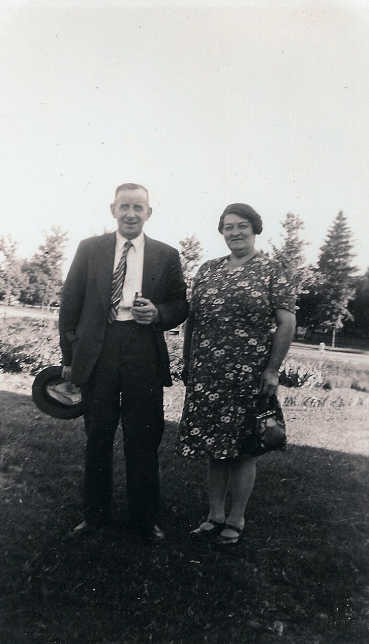 George and Maggie Johnston