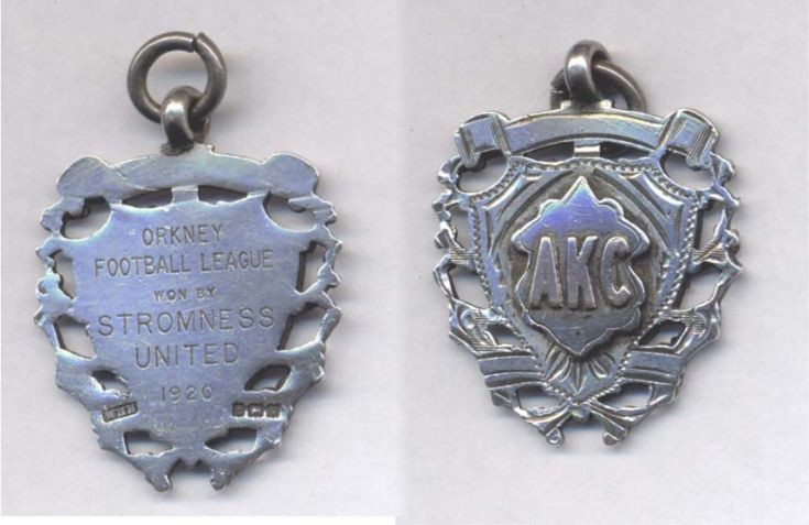 League winners medal 1920