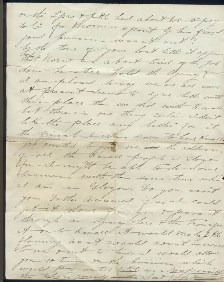 Old letter 2