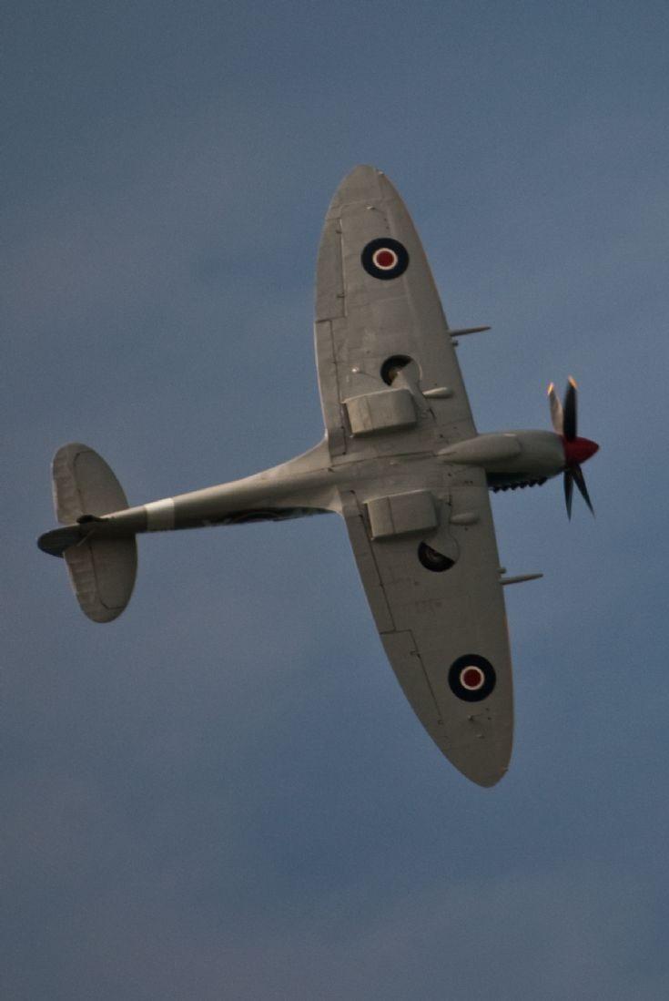 Spitfire over Orkney