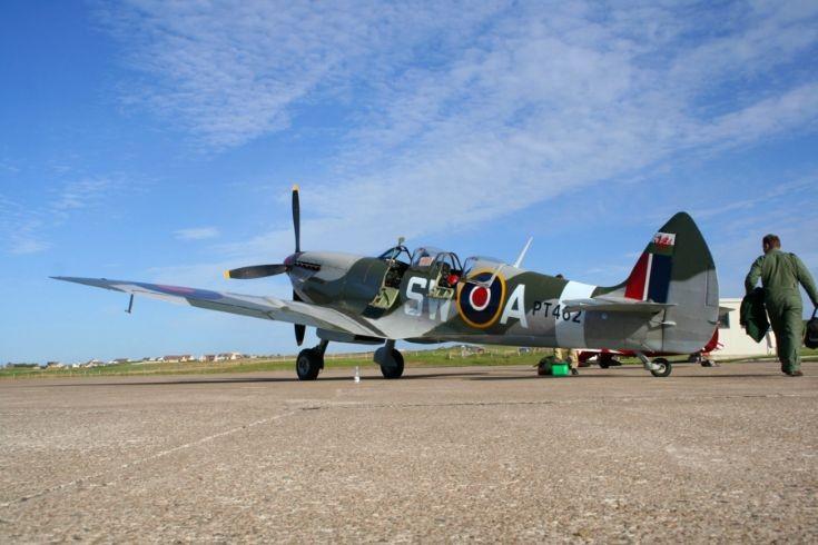 Spitfire at Grimsetter