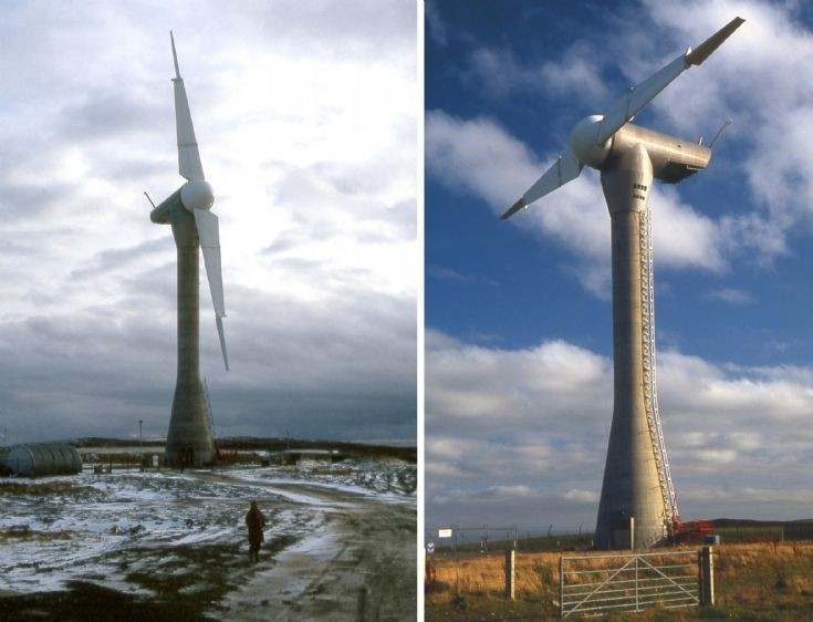 Burgar Hill wind turbine