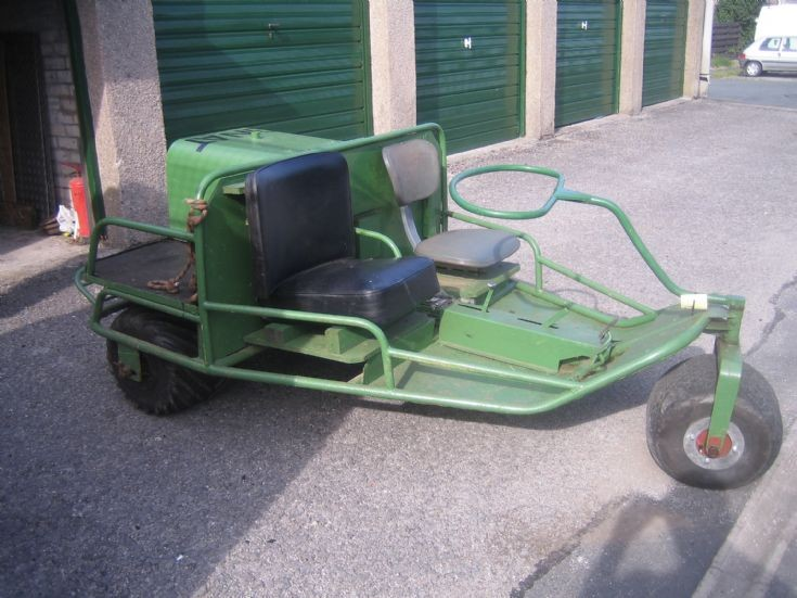The Gnat light agricultural tractor