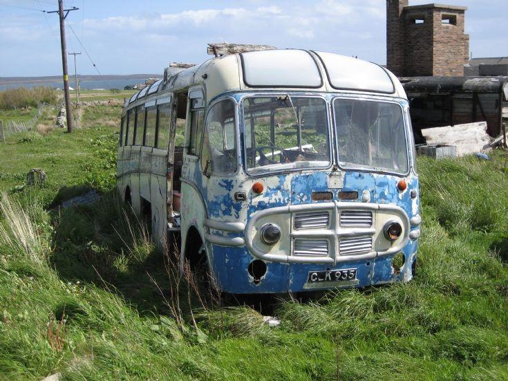 Abandoned coach #1