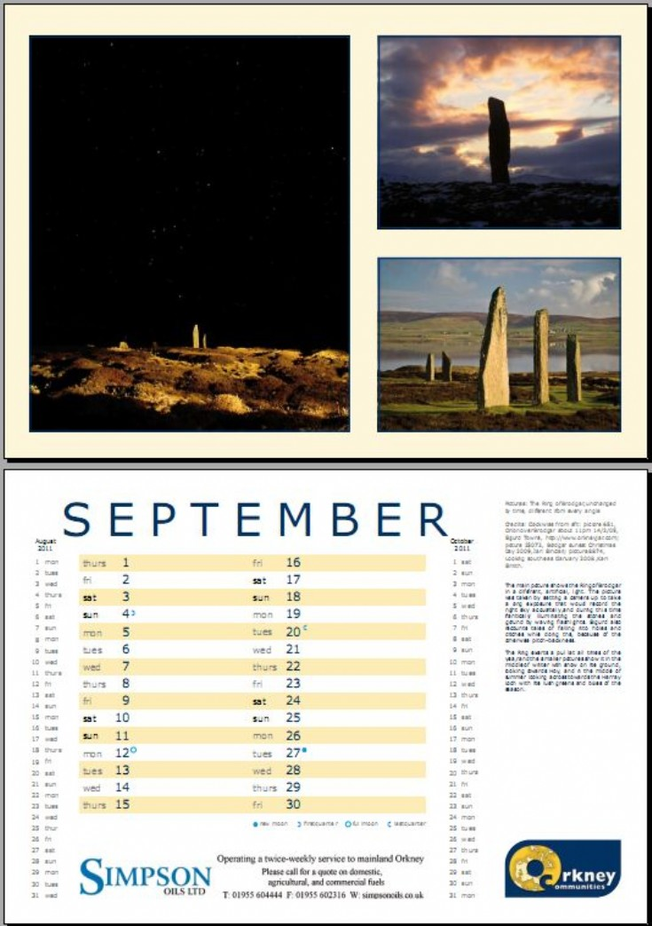 You could enjoy this all September