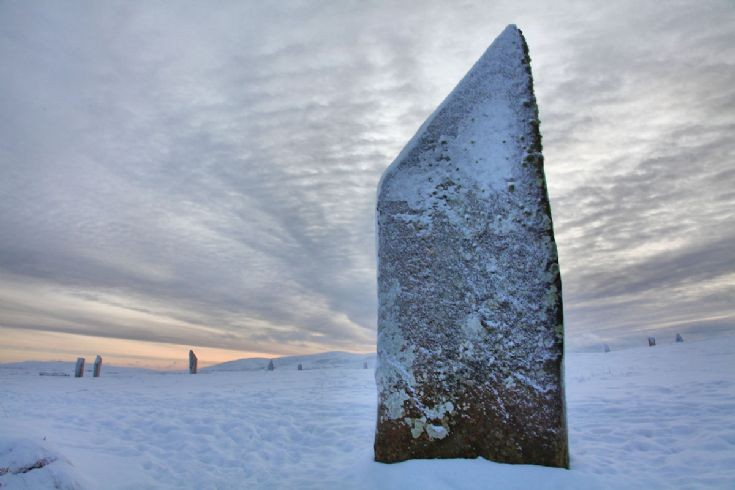 Ring of Brodgar, Boxing Day 2010