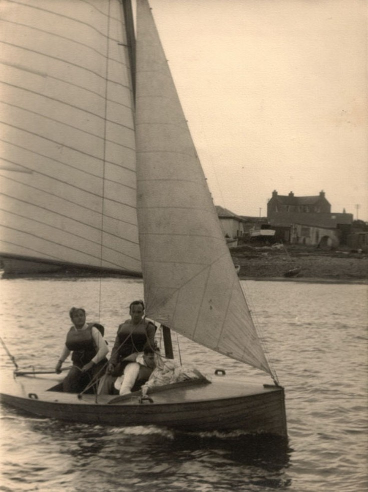 The Orcadian with Jimmy Wylie at the helm