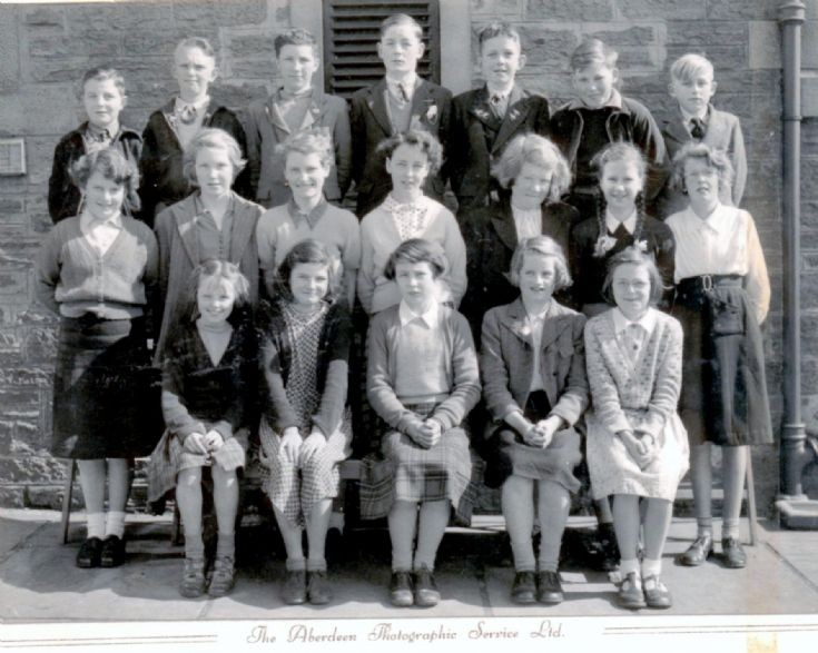 Stromness Academy 1954