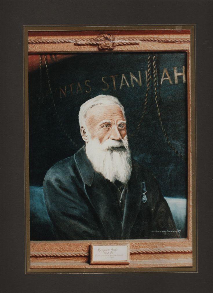 Benjamin Stout Longhope lifeboat cox'n
