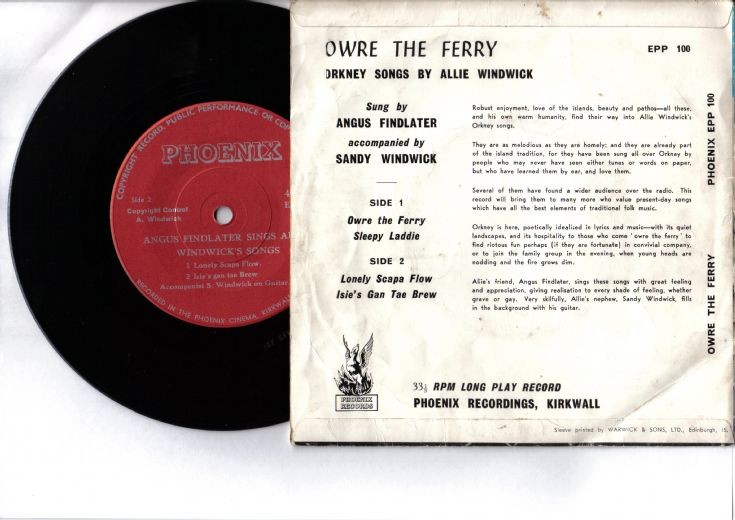 Reverse of Angus Findlater Sings