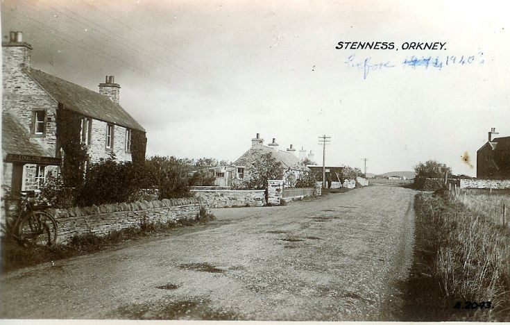 Stenness before 1940
