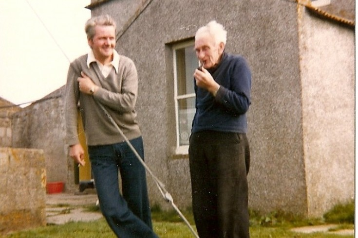 Jack Donaldson and Wille Maxwell