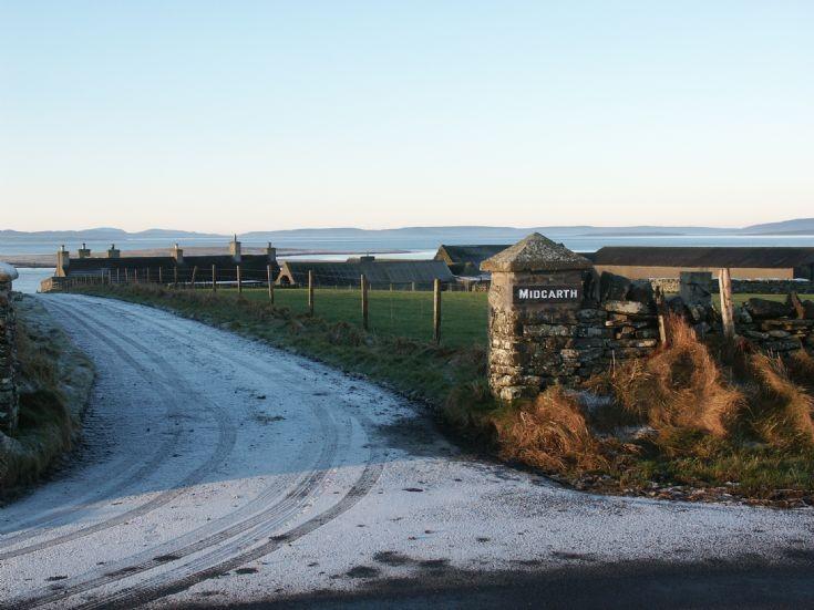 Midgarth Farm looking west