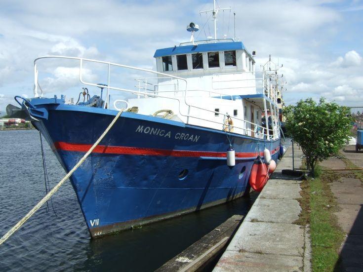 Ex-Westray fishing boat Monica Croan