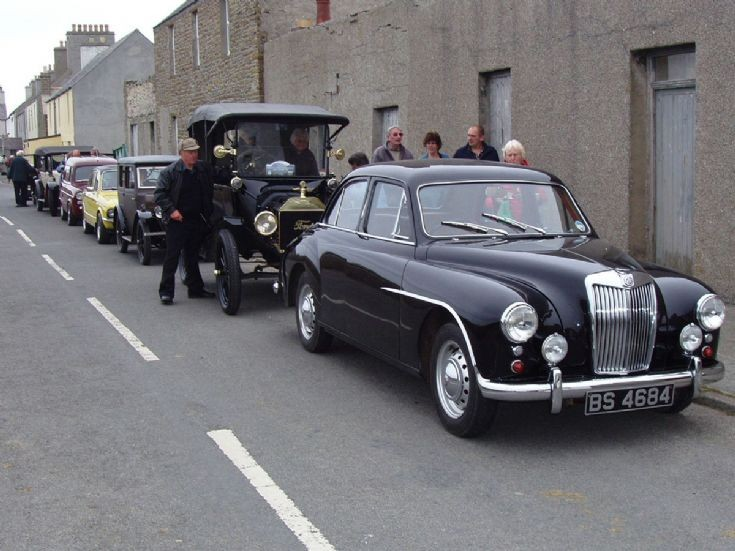 Vintage Cars on Stronsay 1/4