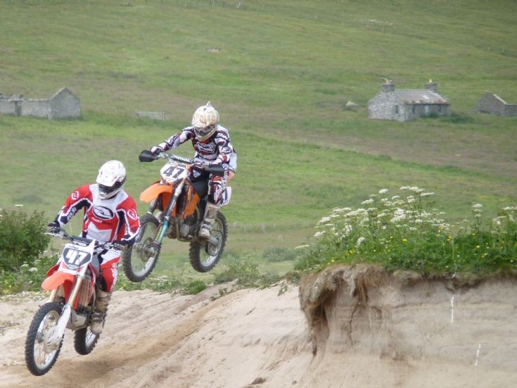 Visit to Westray of Moto Cross