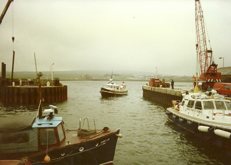 Kirkwall Harbour 1989