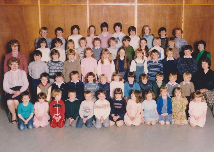 Orphir Primary School in the mid 80s