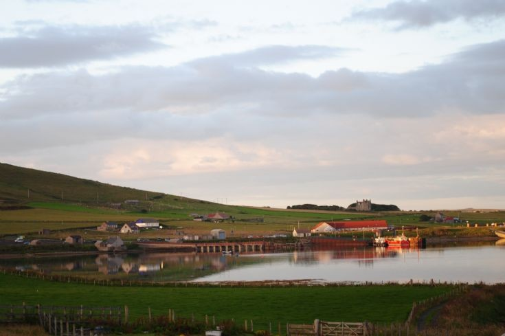 A still evening in Houton