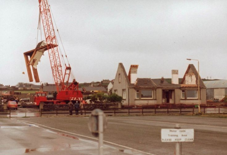 The demolition of St Clair