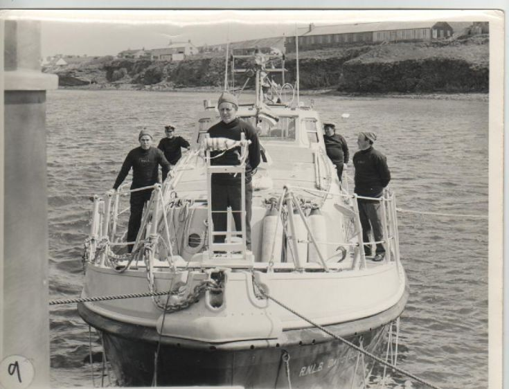 Naming of Longhope's lifeboat