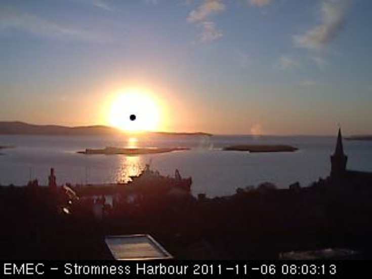Stromness sunrise