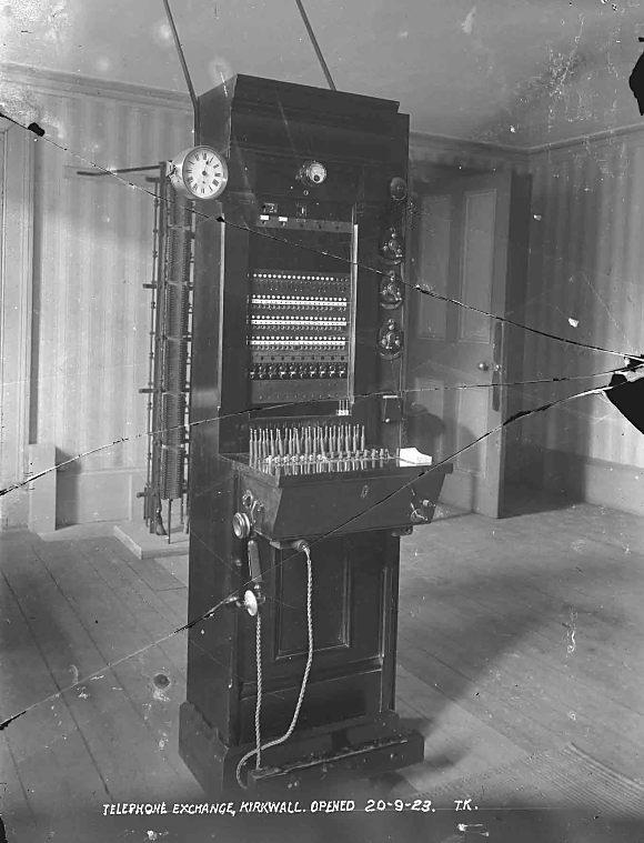 Telephone Exchange, Kirkwall - 1923